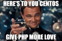 PHP on CentOS